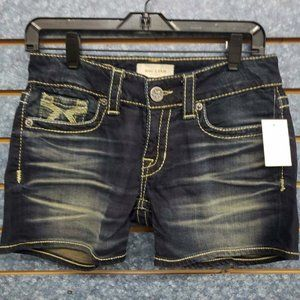 Big Star Dark Blue Shorts Women's Sz 27